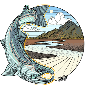Alaska Fly Fishing Goods Logo