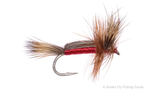 Turks Tarantula Rubber legs  Red #14 Attractor flies